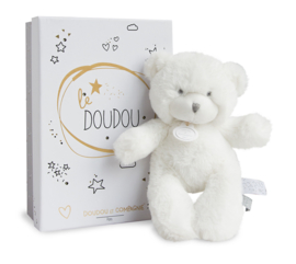 Doudou - Pantin Ours beertje Wit