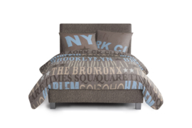 Kinderboxspring set Dormai Bedtime Taupe