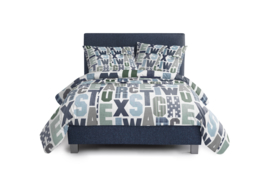 Kinderboxspring Dormai Bedtime Royal Blue