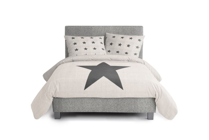 Kinderboxspring Dormai Cool Grey