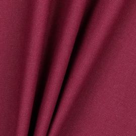 Canvas stof bordeau rood, 1 meter