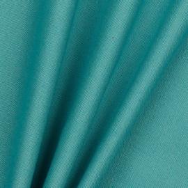 Licht Petrol Canvas stof