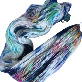Handgeverfd garen, Rarity, 100 gram sokkenwol