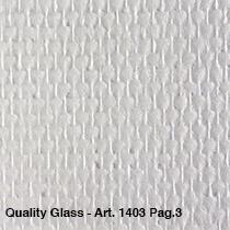 Niet voorgeschilderd  ruit/motief Quality Glass 1402