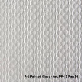 50m2 voorgeschilderd ruit motief pp-12