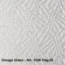 Per m2 Design glass 1636