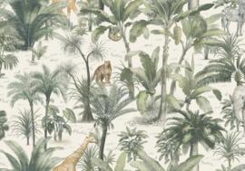 jungle behang 2