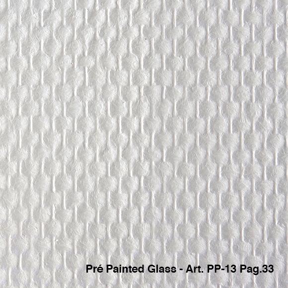 50m2 voorgeschilderd ruit motief pp-13