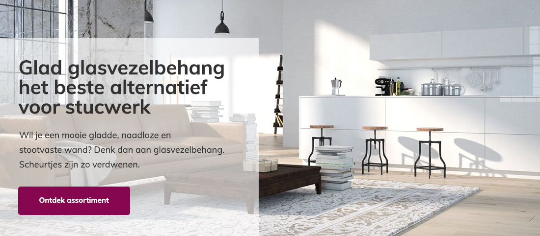 Glasvezelbehang webshop
