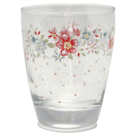 GreenGate Glass Water Clementine White