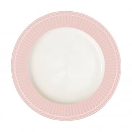GreenGate Stoneware Dinnerplate Alice Pale Pink D 26,5 cm