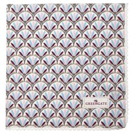 GreenGate Napkin With Lace Victoria White 40 x 40 cm