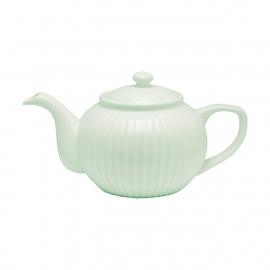 GreenGate Stoneware Teapot Alice Pale Green H 14 cm