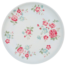 GreenGate Bamboo Plate Sonia Pale Blue D 20 cm
