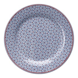 GreenGate Stoneware Plate Juno Dusty Blue D 20,5 cm