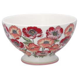 GreenGate Stoneware Soup Bowl Aria White