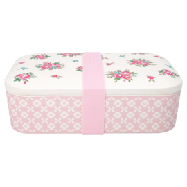 GreenGate Bamboo Lunchbox Constance White 6,5 x 12,8 x 19,8 cm