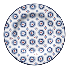 GreenGate Stoneware Small Plate Erin Petit Pale Blue D 15 cm
