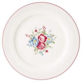 GreenGate Stoneware Dinnerplate Henrietta White