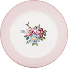 GreenGate Stoneware Dinnerplate Madison White D 25,3 cm