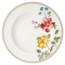 GreenGate Stoneware Small Plate Thilde White D 15 cm