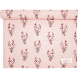 GreenGate Cotton Tablerunner Dina Pale Pink