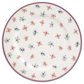GreenGate Stoneware Dinnerplate Hailey White D 25,3 cm