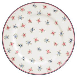 GreenGate Stoneware Dinnerplate Hailey White D 25,3 cm
