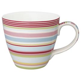 GreenGate Stoneware Mug Pipa Multicolor H 9 cm