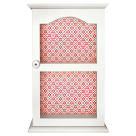 GreenGate Wood Cupboard Alba Red 50 x 32 x 14,5 cm