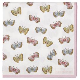 GreenGate Paper Napkin Maisie White Small 20 Pieces 25 x 25 cm