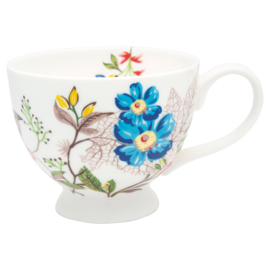 GreenGate Stoneware Teacup Ellen White H 9 cm
