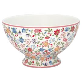 GreenGate Stoneware Soup Bowl Clementine White