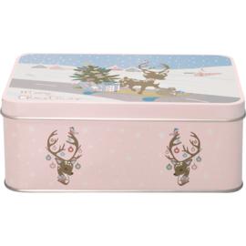 GreenGate Rectangular Box Bambi Pale Pink