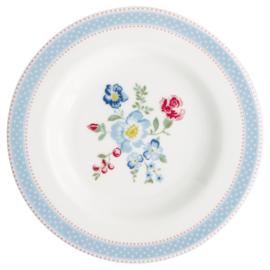 GreenGate Stoneware Small Plate Evie White D 15 cm