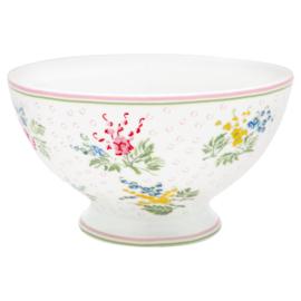 GreenGate Stoneware Soup Bowl Mira White D 15 cm