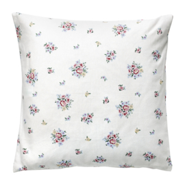 GreenGate Cushion Nicoline White 50 x 50 cm