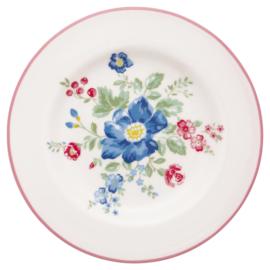 GreenGate Stoneware Small Plate Roberta Pale Pink D 15 cm