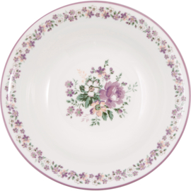 GreenGate Stoneware Salad Bowl Marie Dusty Rose D 26,5 cm