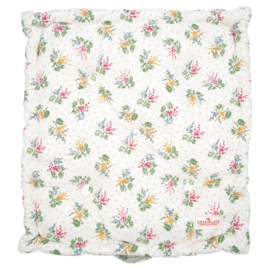 GreenGate Box Cushion Mira White 50 x 50 cm