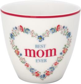 GreenGate Stoneware Latte Cup Mothersday English Version H 9 cm