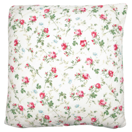 GreenGate Cushion Constance White 50 x 50 cm