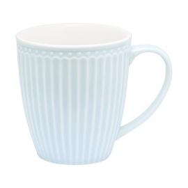 GreenGate Stoneware Mug Alice Pale Blue H 10 cm