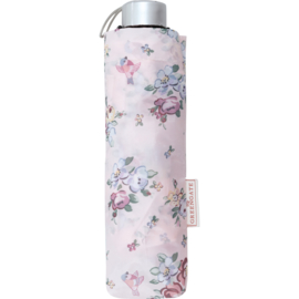 GreenGate Polyester Umbrella Foldable Ellie Pale Pink