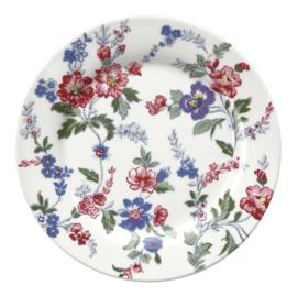 GreenGate Stoneware Plate Isobel White D 20,5 cm