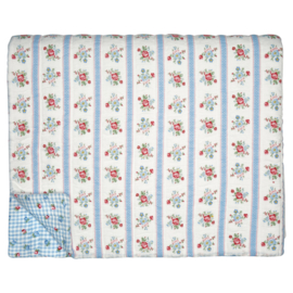 GreenGate Quilted Bed Cover Evie White 140 x 220 cm