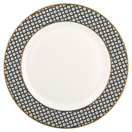 GreenGate Stoneware Dinnerplate Lara Gold D 25,3 cm