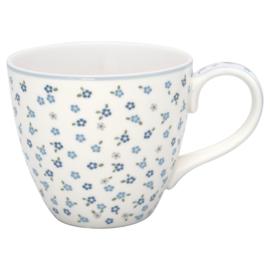 GreenGate Stoneware Mug Ellise White