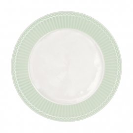 GreenGate Stoneware Plate Alice Pale Green D 23,5 cm