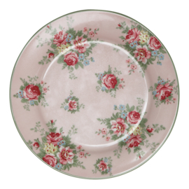 GreenGate Stoneware Plate Aurelia Pale Pink D 20 cm